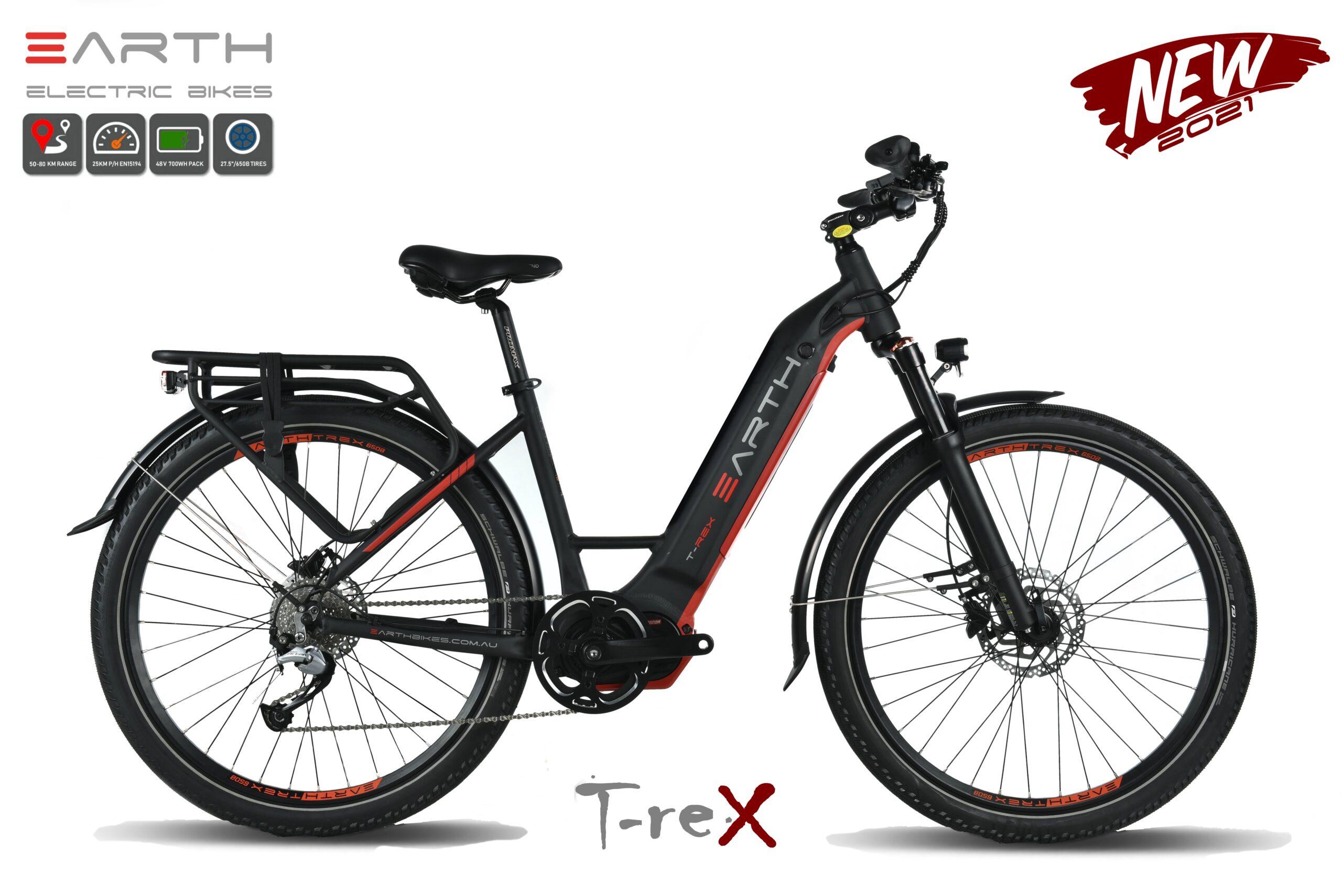 Earth T Rex Mixie Electric Bike 27.5 2021