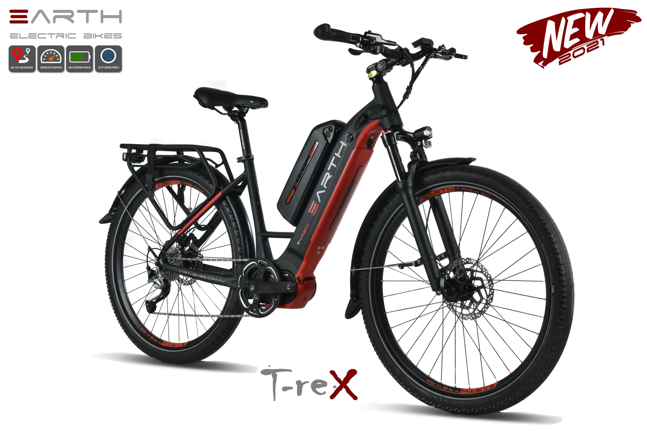Earth T Rex Mixie Electric Bike Dual Battery Pack
