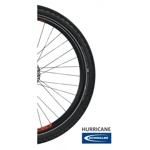 Earth T Rex Mixie Electric Bike Schwalbe Hurricane Tires 600x600