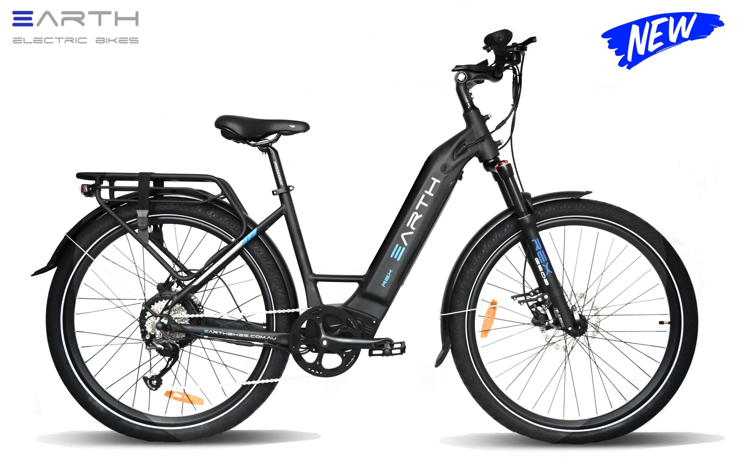 Earth Rex Mixie Touring E Bike 2022