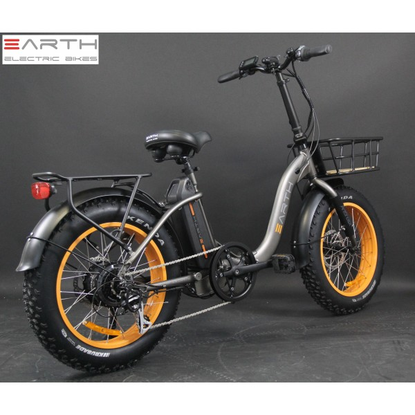 Earth Fat Tire Folding Ebike Charcoal With Basket Low Res 2 600x600